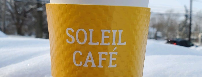 Soleil Cafe is one of Tempat yang Disukai Brittany.