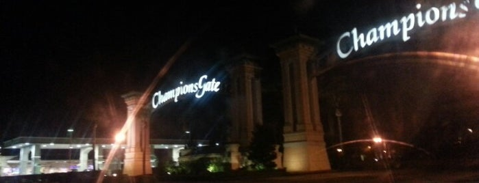 Champions Gate Sign is one of barbee 님이 좋아한 장소.