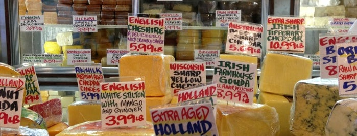 East Village Cheese is one of Tempat yang Disimpan Leigh.