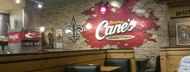 Raising Cane's Chicken Fingers is one of Tempat yang Disukai Maria.