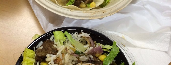 Qdoba Mexican Grill is one of Lugares favoritos de Leandro.
