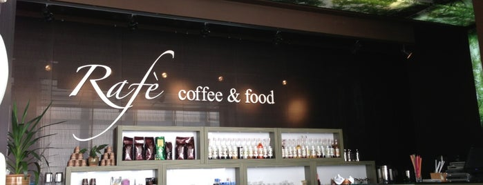 Cafe Rafe is one of Astana.