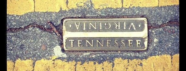 Historic Downtown Bristol TN/VA is one of Southwest VA.