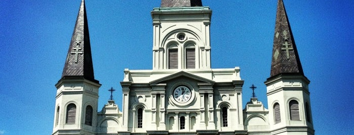 St. Louis Cathedral is one of Nola.