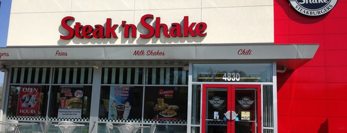 Steak 'n Shake is one of Tempat yang Disukai DaByrdman33.