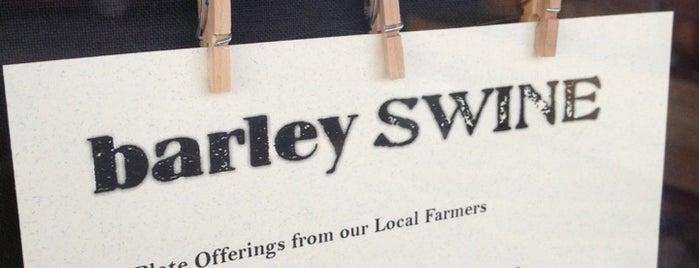 Barley Swine is one of Austin.