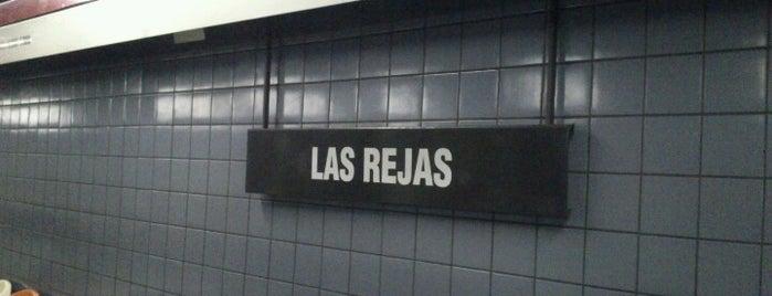 Metro Las Rejas is one of Linea 1 Metro de Santiago.