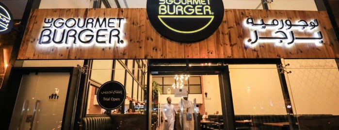 Le Gourmet Burger is one of Locais salvos de Nouf.
