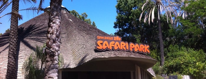 San Diego Zoo Safari Park is one of San Diego.