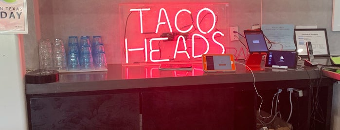 Taco Heads is one of Dallas - Food & Drink.