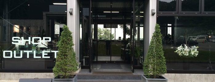 諏訪田製作所 is one of Takahiroさんの保存済みスポット.