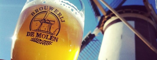 Brouwcafé de Molen is one of Beer / Ratebeer's Top 100 Brewers [2019].