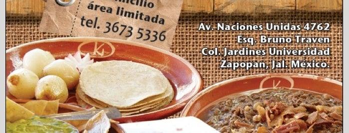 ¿Qué Pachó? is one of En Guadalajara se come y se toma bien rico..