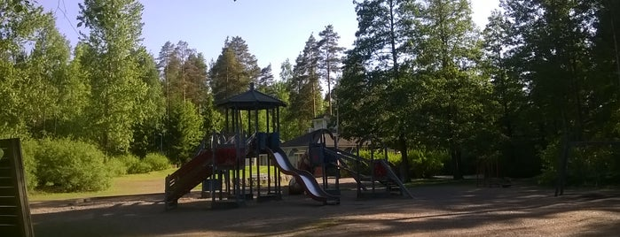 Kuovin Perhepuisto is one of развлечения и отдых.