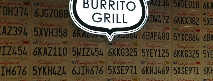 California Burrito Grill is one of LA Foodie list.