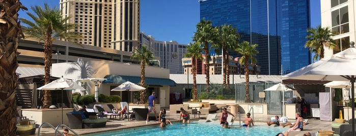Signature MGM Adult Only Pool is one of Vegas.