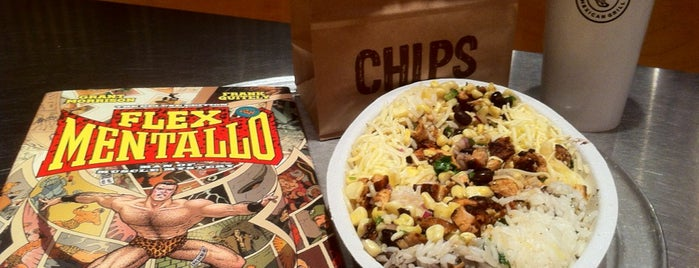 Chipotle Mexican Grill is one of Gluten-Free Twin Cities.