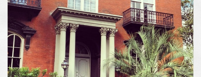 Mercer Williams House is one of Savannah Half Marathon!.