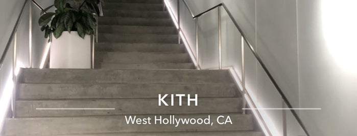 Kith Pop-Up is one of US18: Los Angeles.