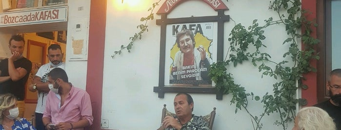 Kafa Cafe is one of Bozcaada.