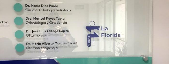 Clínica La Florida is one of Ricardo'nun Beğendiği Mekanlar.