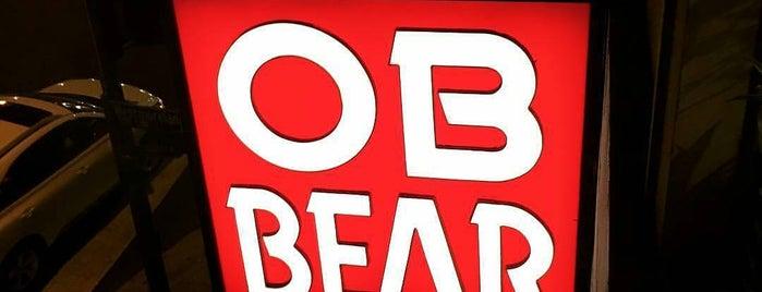 OB Bear is one of Late Night LA Bites.