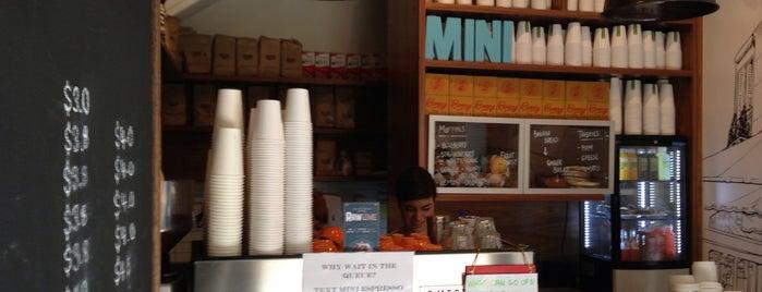 Mini Espresso is one of Perth city coffee stops.