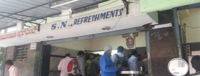 S N Refreshments is one of Lugares favoritos de Mahesh.