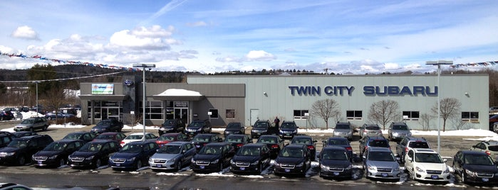 Twin City Subaru is one of Subaru of New England Dealers.