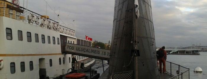 TCG Uluçalireis Denizaltısı is one of Orte, die Seda gefallen.