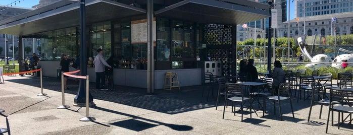 Bi-Rite Cafe is one of Lugares guardados de Drew.