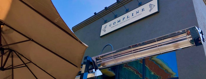 Compline Wine Bar is one of SF 2.0.