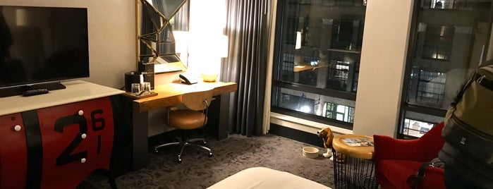The Kimpton Journeyman Hotel is one of Mill-e-wah-que.