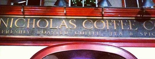 Nicholas Coffee & Tea Company is one of Orte, die Lauren gefallen.