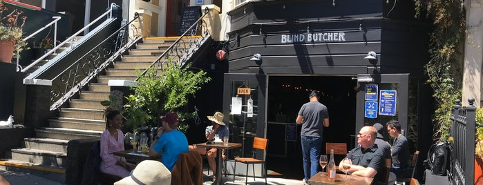 Blind Butcher is one of Lunch dinner.