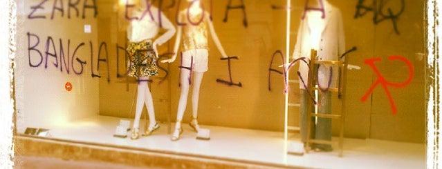 Zara is one of Barcelona.