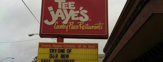 Tee Jaye's Country Place is one of สถานที่ที่ Jodi ถูกใจ.