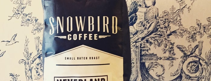 Snowbird Coffee is one of SFO.