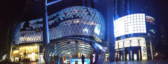 ION Orchard is one of Orte, die Riffa Hadiya gefallen.