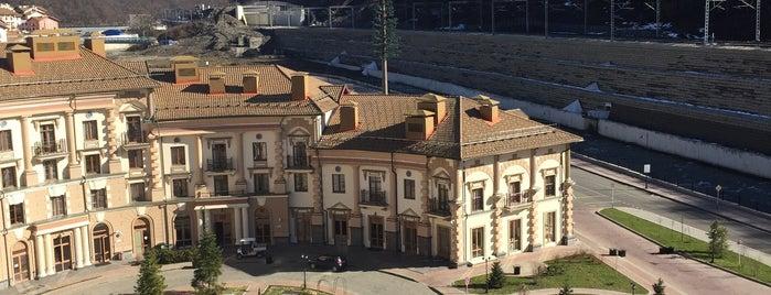 Апартаменты «Горки Город» is one of Locais curtidos por Svet.