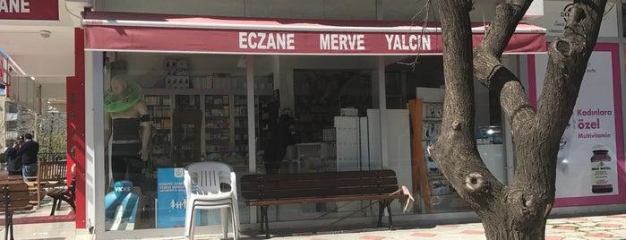 Merve Yalçın Eczanesi is one of Lieux sauvegardés par Ladybug.