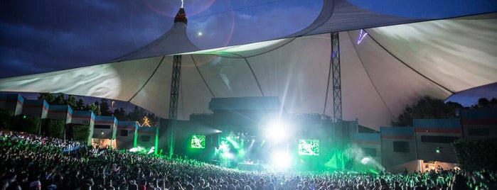 Shoreline Amphitheatre is one of Live Nation Venues.