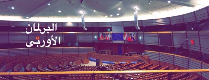 European Parliament Press Room is one of Lieux qui ont plu à Duarte.