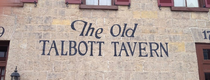 Old Talbott Tavern is one of Kentucky Y'all.
