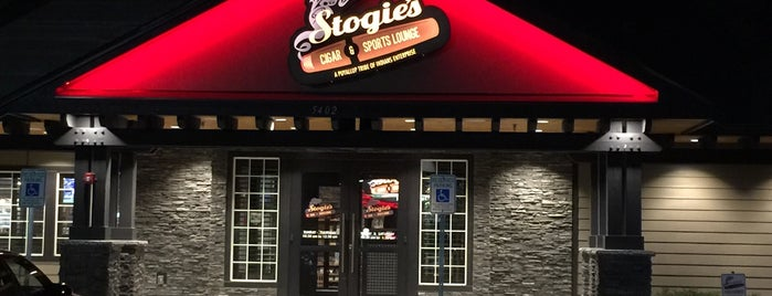 Stogie's Cigar & Sports Lounge is one of Beat place to smoke cigars.
