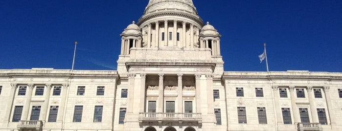 Rhode Island State House is one of State Capitols.
