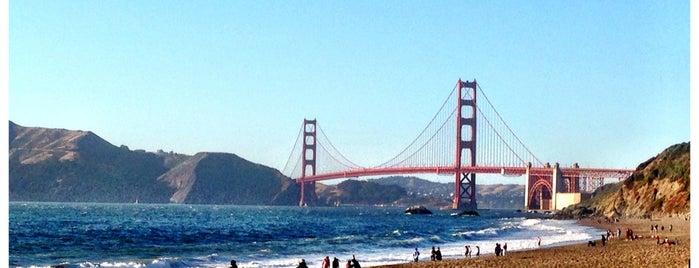 Baker Beach is one of CA road trip.