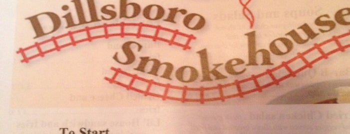 Haywood Smokehouse is one of BBQ.