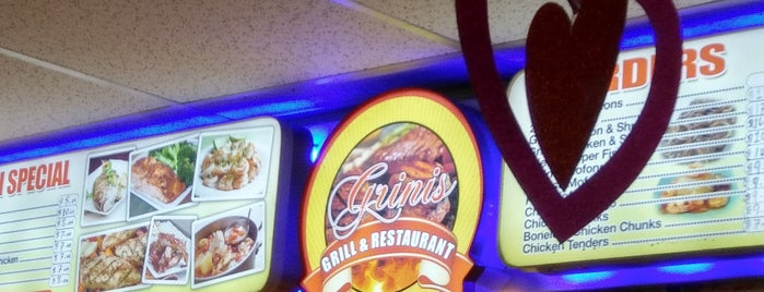 Grini's Grill is one of Food.