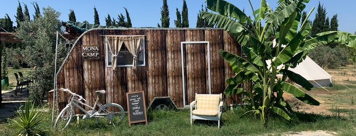 Mona Glamping Caravan Suites is one of Butik Hoteller.